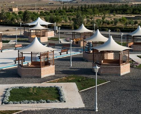 سازه پارچه ای کاروانسرای عباسی
