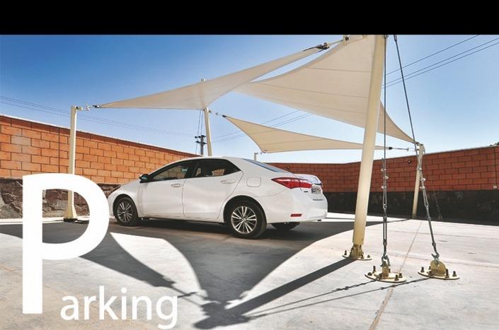 سازه پارچه ای پارکینگ