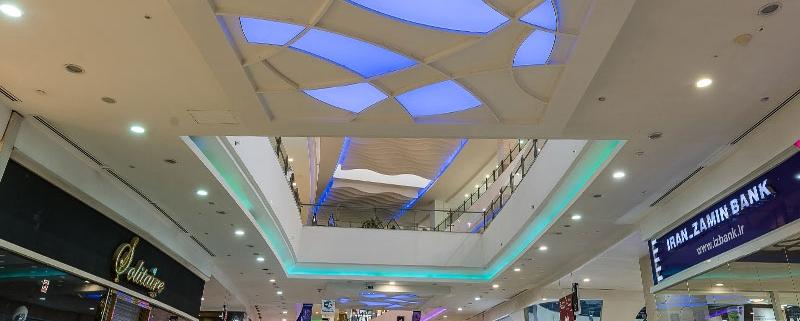 سقف کشسان سیتی سنتر