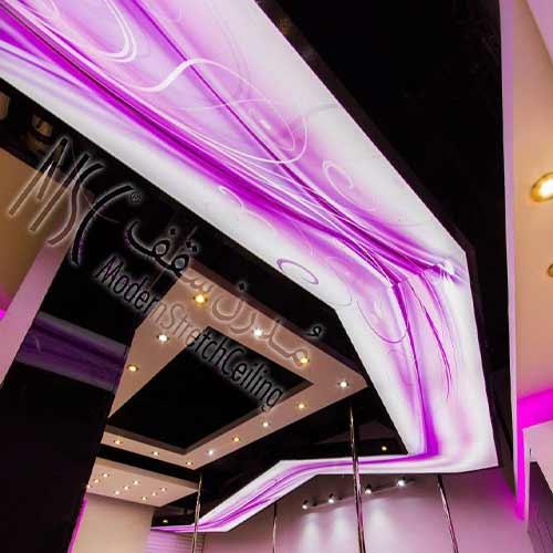 سقف کشسان مغازه