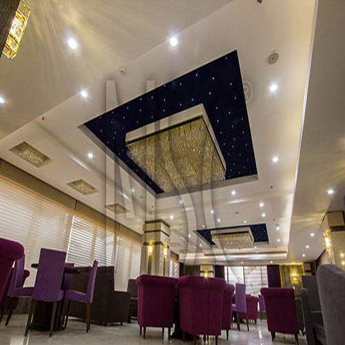 سقف کشسان با سیستم نورپردازی