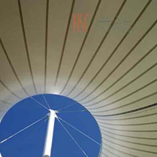 سازه پارچه ای مدرن سقف