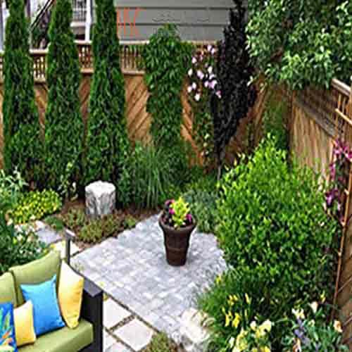 سایبان روف گاردن باغی روی بام