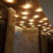 سقف کشسان و نورپردازی